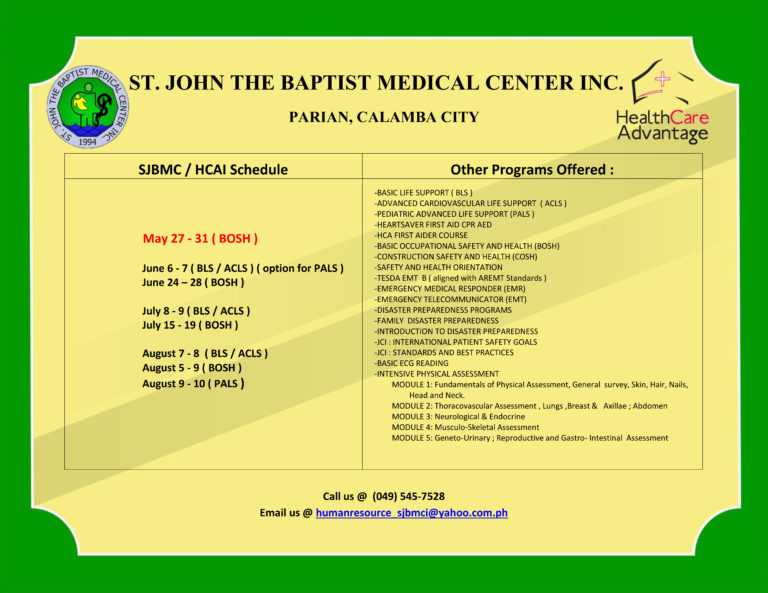 With DOH Officers And St John The Baptist Medical Center